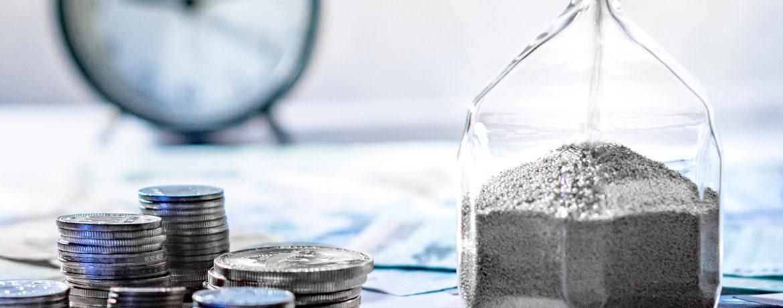 Zeit ist Geld - Auch bei der Baufinanzierung der Finanzkanzlei in Südbaden.